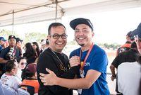 CEO MXGP Indonesia Irwansyah dan Omesh