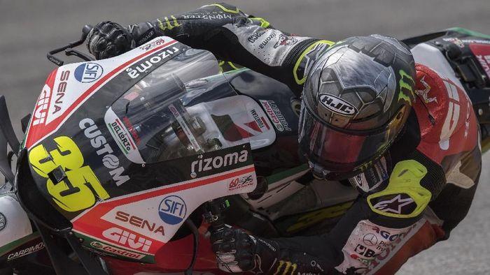 Cal Crutchlow finis ketiga di MotoGP Jerman 2019 (Mirco Lazzari gp/Getty Images)