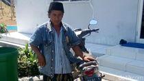 Biker Bersarung Berpeci yang Masuk Tol Waru Ngaku Pengawal Bupati