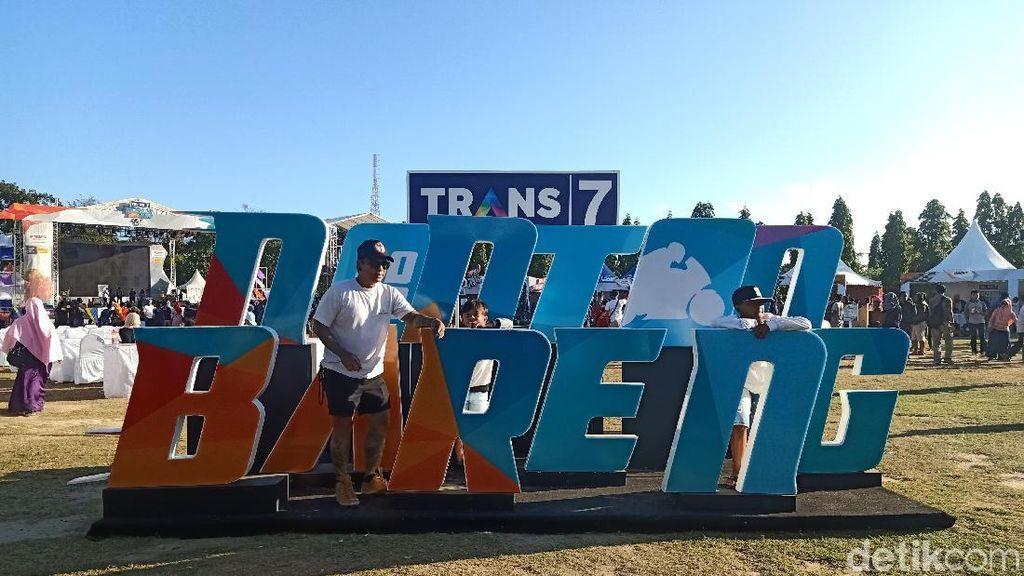 Cita Citata Ajak Warga Bali Bergoyang di Nobar MotoGP Trans7