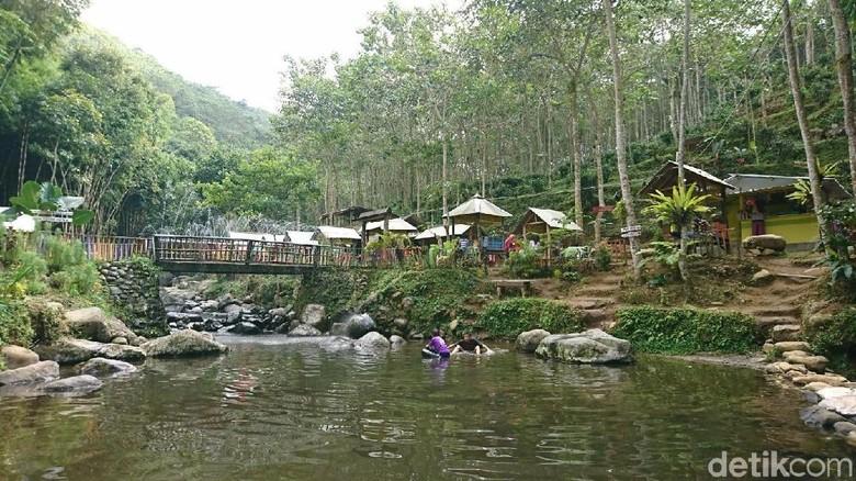 Objek wisata Kedung Minten di Tulungagung (Adhar Muttaqin/detikcom)