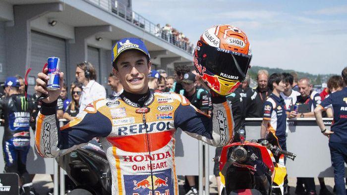 Marc Marquez juara MotoGP Jerman. (Foto: Mirco Lazzari gp/Getty Images)