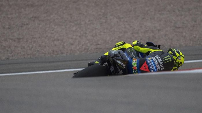 Valentino Rossi start dari posisi 11 di MotoGP Jerman. (Foto: Mirco Lazzari gp/Getty Images)