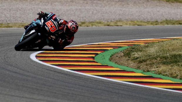 Fabio Quartararo jadi sorotan karena tiga kali meraih pole position.