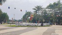 Jalan-jalan Santai ke Taman Lampion Tegalega Bandung