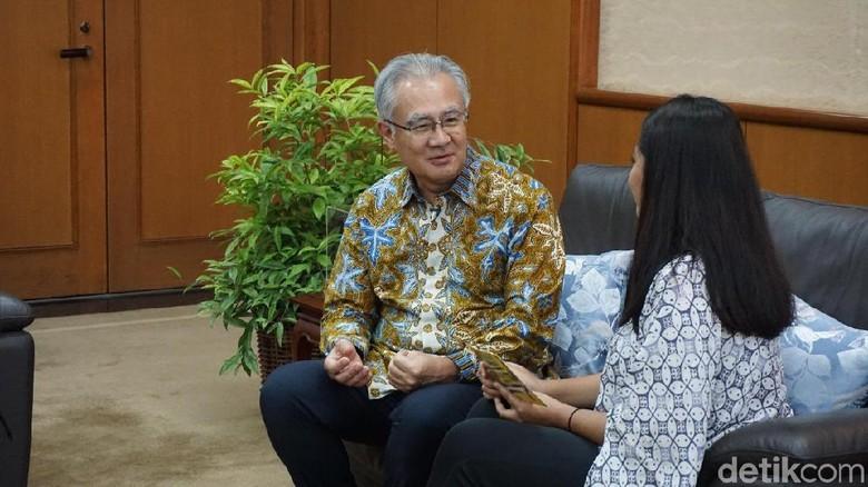 Duta besar Jepang untuk Indonesia, Masafumi Ishii (Sonia/detikcom)