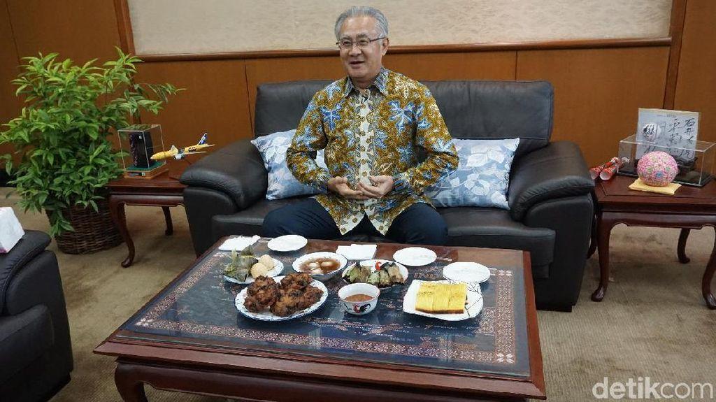Dubes Jepang Masafumi Ishii : Saya Suka Semua Makanan Indonesia