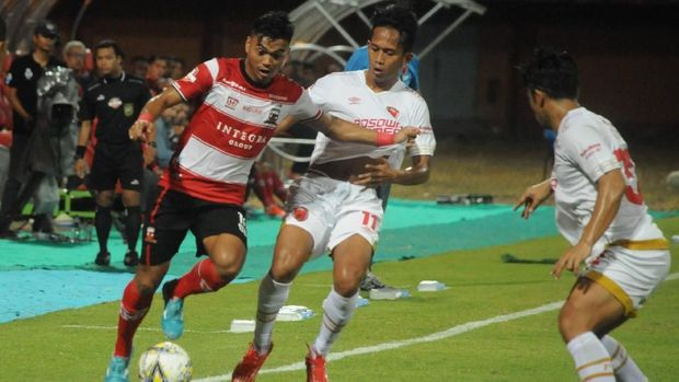Madura United tanpa kemenangan di empat laga beruntun