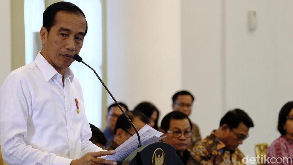 Jokowi Sentil KLHK Masih Lama Urus Perizinan Lahan