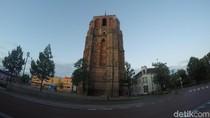 Bukan Pisa, Ini Menara Gagal dari Belanda