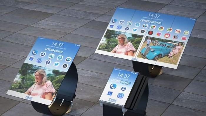 IBM punya paten smartwatch yang bisa berubah jadi smartphone dan tablet. (Foto: Dok. LetsGoDigital)