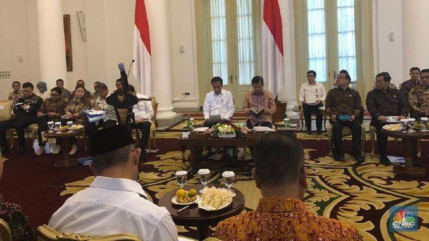 Wah! Jelang Reshuffle, Jokowi Sentil Menteri-menteri