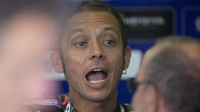 Valentino Rossi dihantui tanda tanya usai MotoGP Jerman. (Foto: Mirco Lazzari gp/Getty Images)