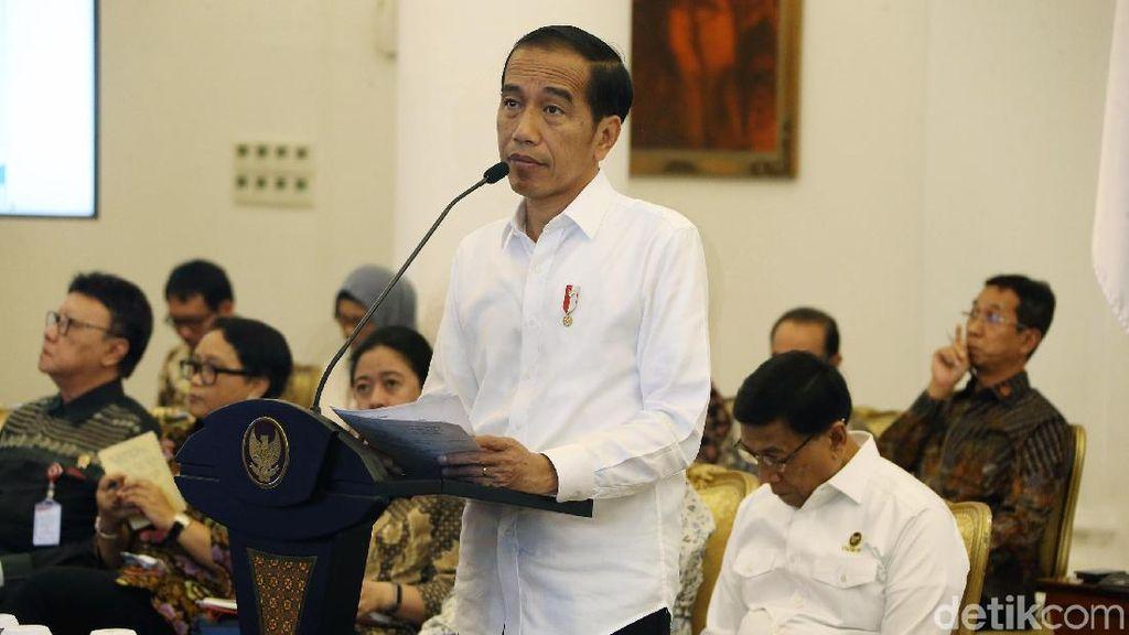 Jokowi Gelar Sidang Kabinet Paripurna Bahas Ekspor Impor