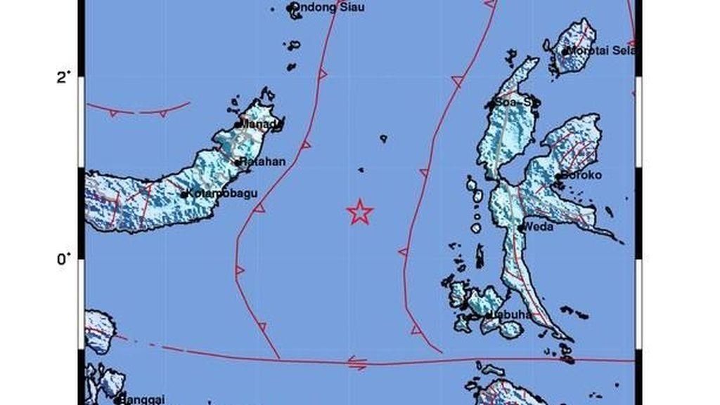 Gempa M 5,7 Guncang Ternate-Maluku Utara