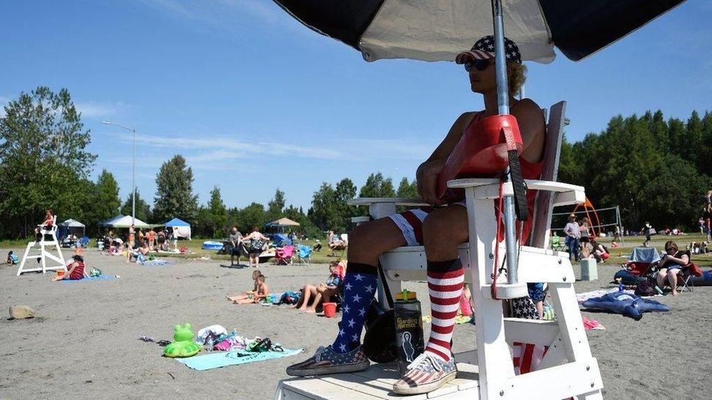 Suhu di Alaska 32 Derajat Celsius, Rekor Baru Selama Gelombang Panas
