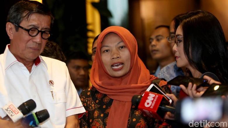 Menkumham Yakin DPR Dukung Amnesti untuk Baiq Nuril