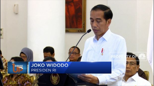 Image result for jokowi umumkan ibukota