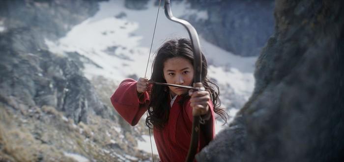 Screenshoot film Mulan.