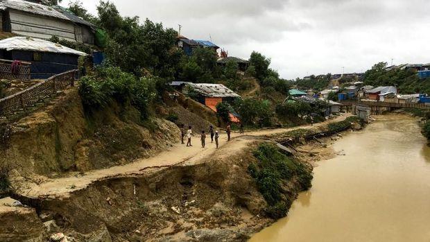 Situasi di kamp pengungsi Rohingya di Bangladesh