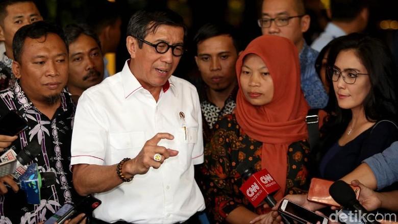 Menkum HAM Susun Pertimbangan Amnesti Baiq Nuril untuk Jokowi