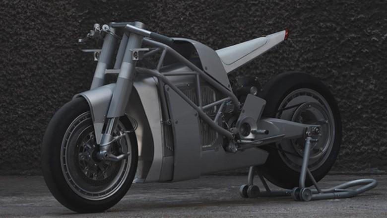 Modifikasi Zero Motorcycle Foto: Pool (visordown)