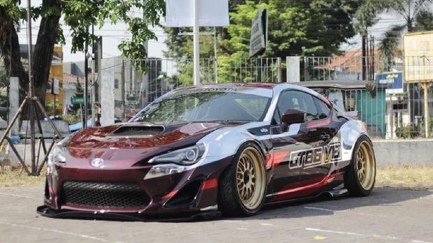 modifikasi Mobil Intersport Auto Show 2019 di Semarang