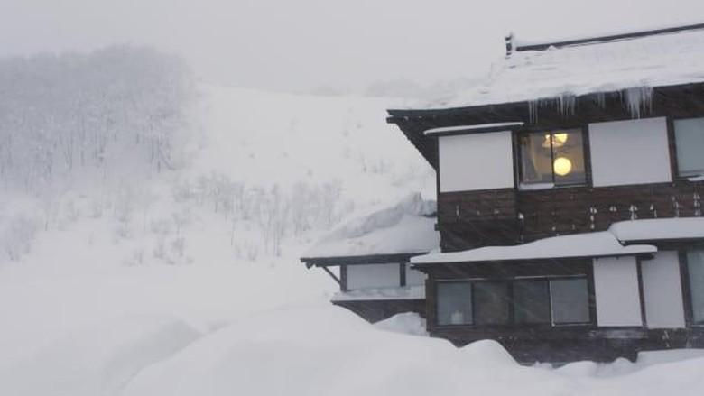 Aomori saat musim dingin di Jepang (CNN)