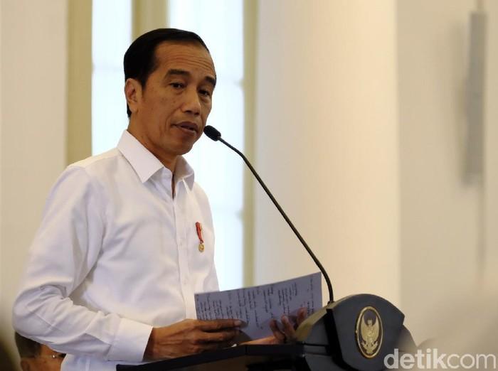 Presiden Jokowi gelar sidang kabinet paripurna di Istana Bogor