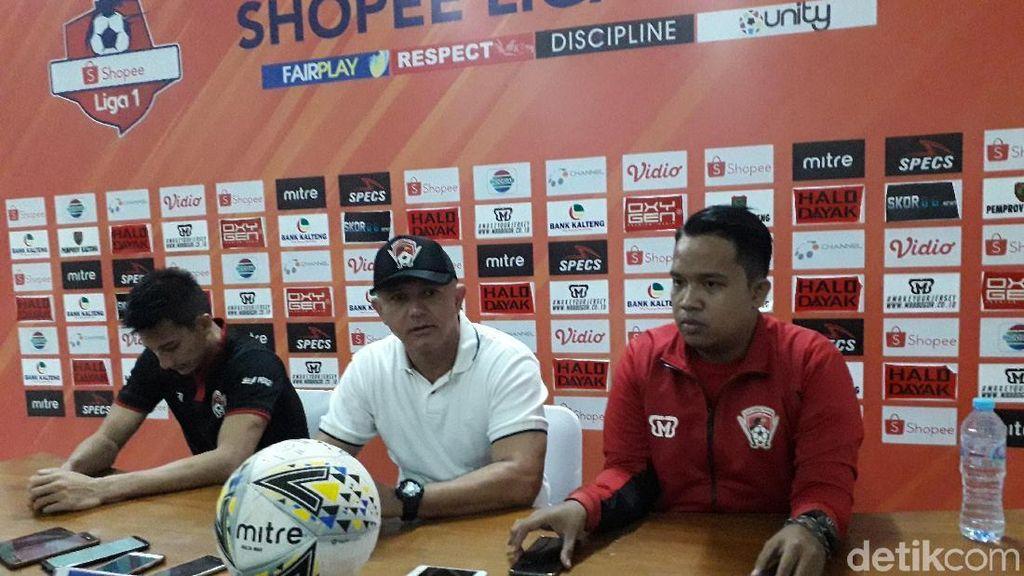 Pelatih PSS Akui Beruntung Bisa Kalahkan Kalteng Putra 2-0