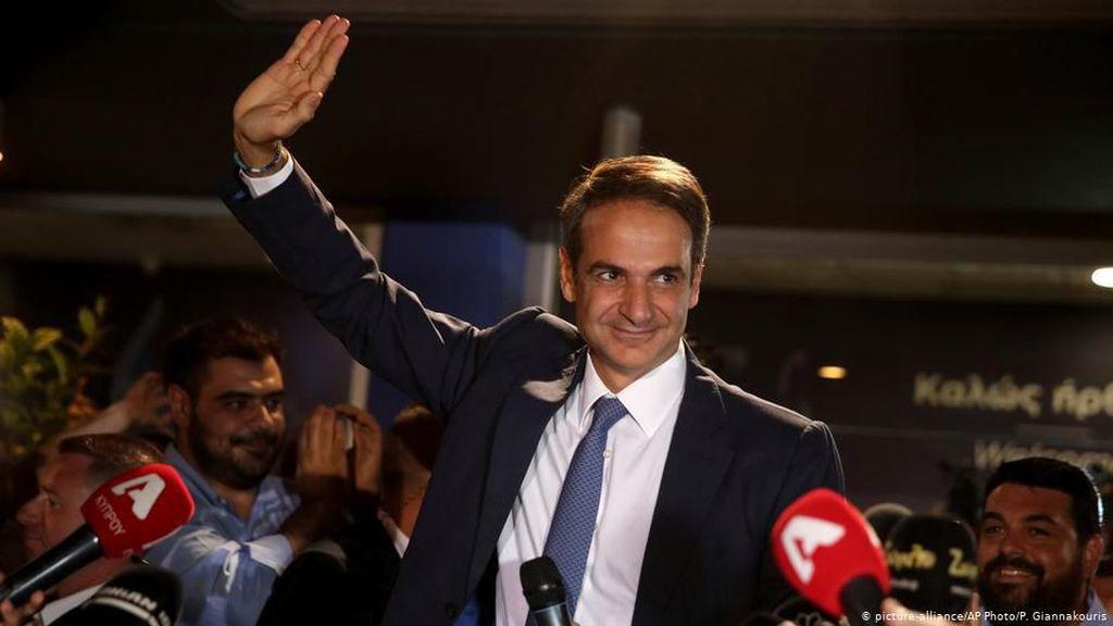 Kubu Konservatif Rebut Mayoritas Mutlak di Yunani, PM Tsipras Akui Kekalahan