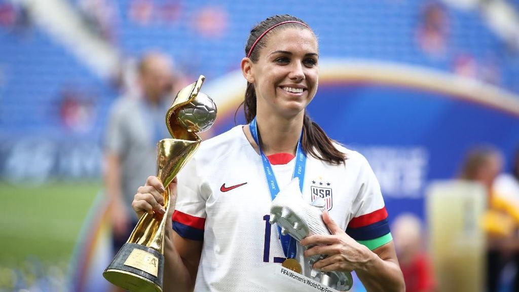 Viral, Momen Alex Morgan Twerking Setelah AS Juarai Piala Dunia Wanita 2019