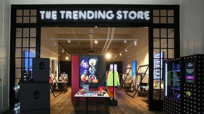 The Trending Store, toko baju yang hanya jual barang-barang viral di media sosial. Foto: istimewa