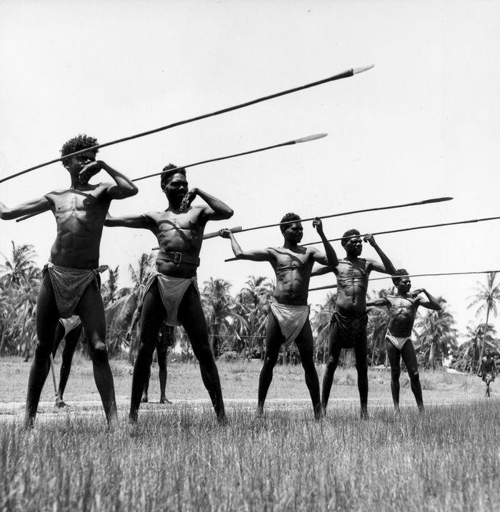 Pada zaman dahulu Lempar Lembing digunakan para suku pendalaman untuk berperang dan berburu binatang. Gettyimages.