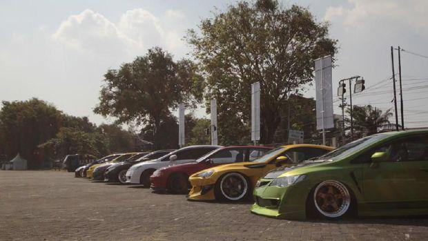 Modifikasi Intersport auto show 2019 di Semarang
