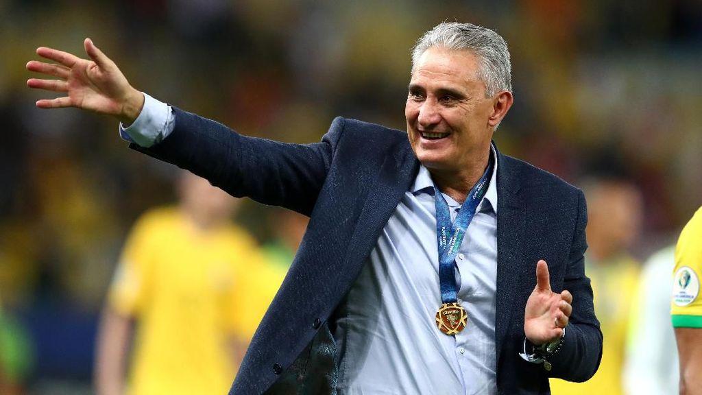 Brasil Juara Copa America 2019, Tite Disanjung Dani Alves