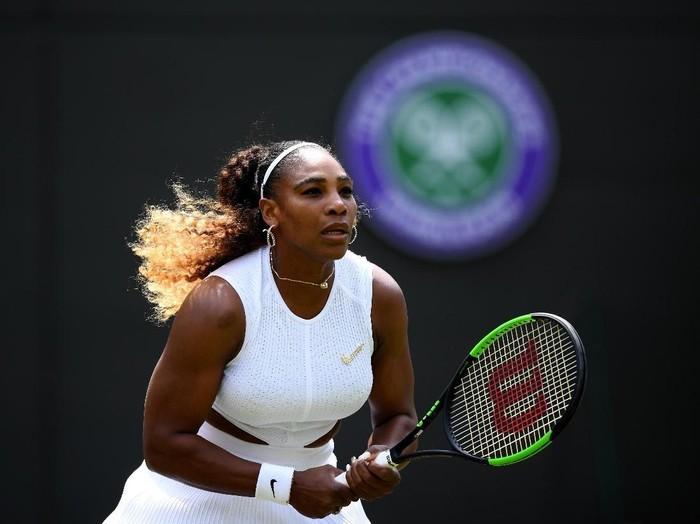 Serena Williams di Wimbledon 2019. (Foto: Shaun Botterill/Getty Images)