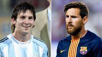 Transformasi Bintang Sepakbola Dulu dan Sekarang