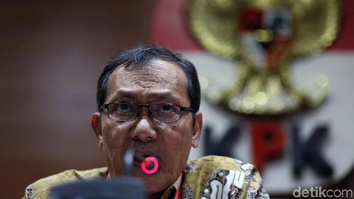 Wakil Ketua KPK Saut Situmorang (Agung Pambudhy/detikcom)