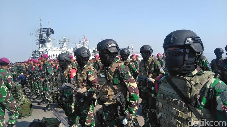 Peperangan Modern akan Jadi Menu Utama di Latihan Armada Jaya ke-37