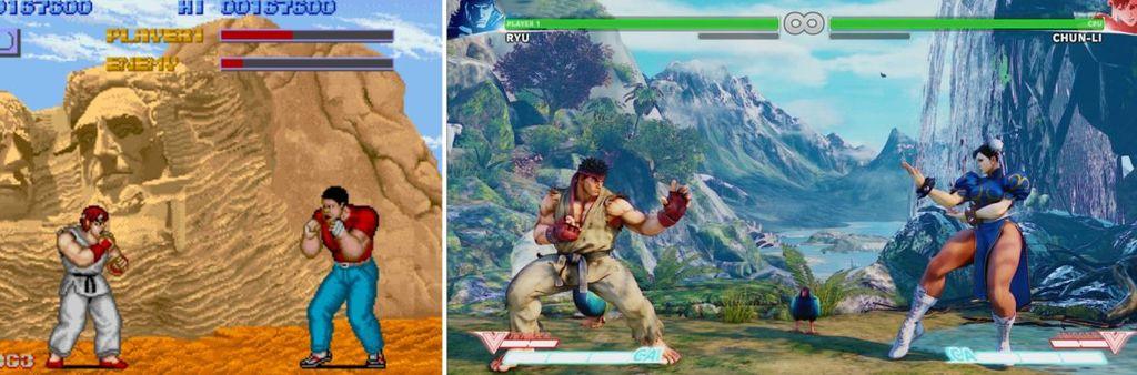 Siapa yang tumbuh dengan game Street Fighter? (Foto: via Reddit)