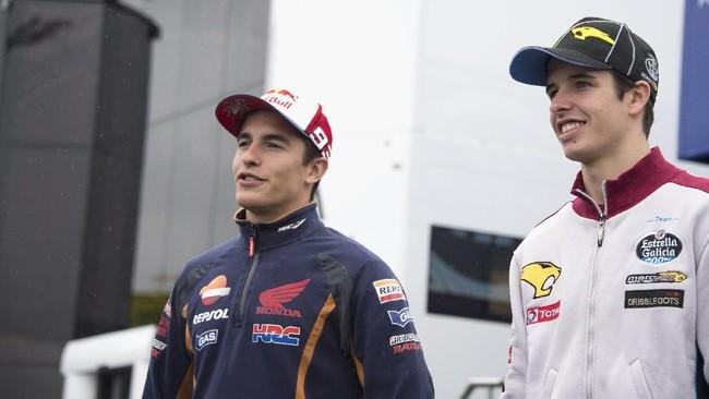 Marc Marquez dan Alex Marquez bisa jadi juara dunia di musim 2019 ini (Mirco Lazzari gp/Getty Images)