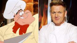 Netizen Mau Gordon Ramsay Perankan Chef Louis di The Little Mermaid