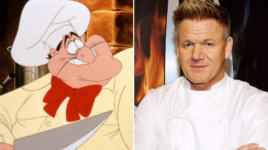 Netizen Mau Gordon Ramsay Perankan Chef Louis di The Little Mermaid