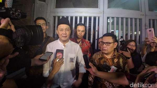 Dilepas MA, Syafruddin Temenggung Bersyukur Bisa Keluar Rutan KPK