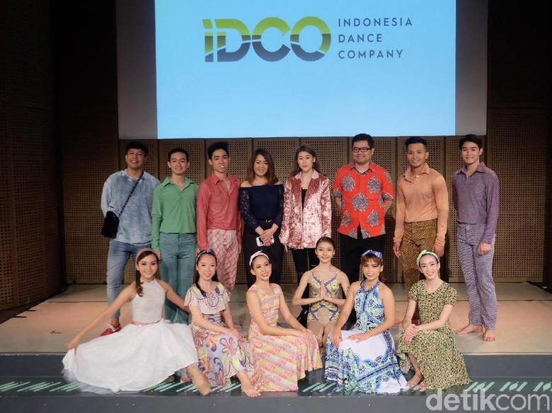 Foto: Indonesia Dance Company (Tia Agnes Astuti/detikHOT)
