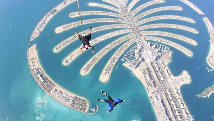 Beragam pemandangan menarik ini dipotret dari udara. Penasaran apa saja? Yuk, lihat.