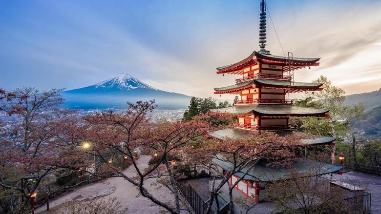 Gunung Fuji di Jepang (iStock)
