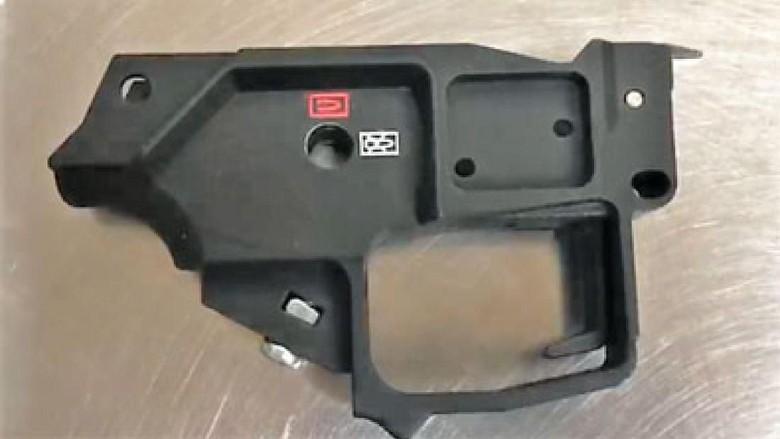 Pistol 3D disita TSA (TSA)