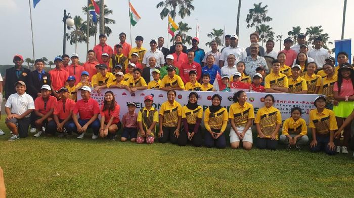 Kemenpora dan PAGI gelar turnamen golf junior yang diikuti 14 negara (dok.Kemenpora)
